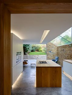 phil coffey architects / queen's park residential side extension, london ~ Great pin! For Oahu architectural design visit http://ownerbuiltdesign.com
