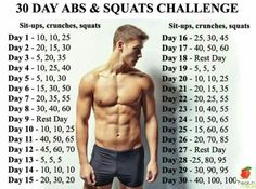 30 day abs and squats