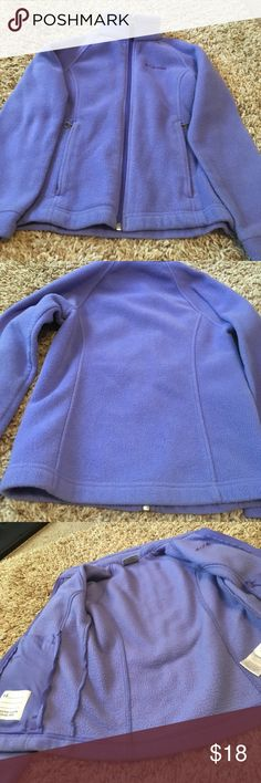 🍂🍁🔥Girls Columbia sweater! Pretty Columbia sweater. It shows normal wear. See last pics. Somehow the zipper on the left hand pocket caught and tore the inside of that pocket. All zippers work perfect! No writing on name tag. No stains or other holes besides light discoloration on bottom of sleeves and maybe bottom of the jacket. I think it's just faded because I love to wash clothes 😉 Columbia Jackets & Coats