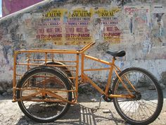Mexican cargo bike