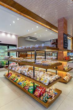 Supermarket Design, Supermarket Shelves, Bakery Shop Design, Cafe Design, Boutique Interior, Small Store Design, Cheese Store, Bakery Store, Retail Shelving