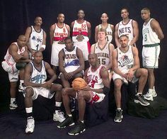 The 1998 Eastern Conference All Star team 68875a0a3