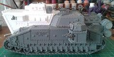 Warhammer 40k Emperor, Super Tank, War Hammer, Military Vehicles, Tanks, Weapons, Conversation, Modeling, Miniature