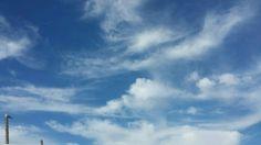 Wolken in Groede