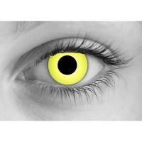 Click for More Info About Rave Yellow Contact Lenses