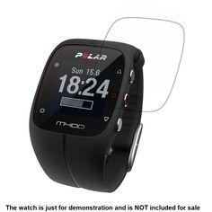 3x Clear LCD Screen Protector Guard Cover Shield Anti-Scratch Film Skin for Polar M400 Sporting Smart Watch Accessories
