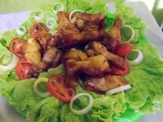 Receita de Asinha de galinha frita - Tudo Gostoso