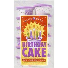 Blue Bell Birthday Cake Ice Cream Sandwiches