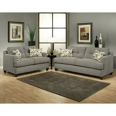 nice @Overstock - Furniture of America Nicolas 2-piece Micro-Denier Fabric Sofa and L... by http://www.top-homedecor.space/sofas-and-loveseats/overstock-furniture-of-america-nicolas-2-piece-micro-denier-fabric-sofa-and-l/