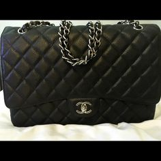 dde3165da65 Chanel jumbo double flap Price reflects. Pre owned. Silver hardware.  Excellent condition Bags