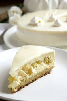 Exotic desserts: pineapple, vanilla and lime - Sweet imprint - Dessert Recipes Healthy Dessert Recipes, Cake Recipes, Desserts With Biscuits, Different Cakes, Savoury Cake, Coco, Love Food, Sweet Recipes, Food And Drink
