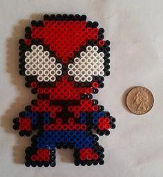 Spiderman Perler Bead