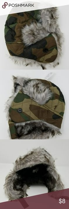 The Children's Place Fur Lined Camo Winter Hat Brand New 6-12 month The Children's Place Other