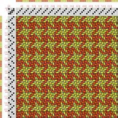 draft image: Figurierte Muster Pl. XX Nr. 16, Die färbige Gewebemusterung, Franz Donat, 4S, 4T