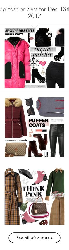 """""""Top Fashion Sets for Dec 13th, 2017"""" by polyvore ❤ liked on Polyvore featuring Versus, STELLA McCARTNEY, Miu Miu, Miss Selfridge, Prada, Yves Saint Laurent, Gucci, Alexander McQueen, CÉLINE and Bobbi Brown Cosmetics"""