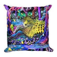 Jaguar Square Pillow Starchild's Designs https://www.amazon.com/dp/B079DHGQZ5/ref=cm_sw_r_pi_dp_U_x_DC3BAbNNN7E0Y
