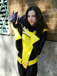 My Kitty Pryde and Lockheed cosplay from New York ComicCon 2012. :D  Submitted byMegan