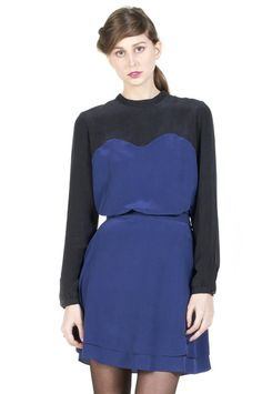 IGWT Fall 2012 - Bunni Blouse Navy/Black