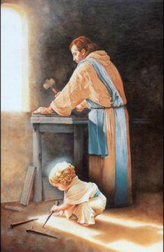 19 de março, Dia de São José - Teresa de Ávila, falando sobre São José: 'Queria eu convencer a todos para que fossem devotos deste glorioso santo, pela grande experiência que tenho dos bens que ele alcança de Deus. Já há alguns anos, que a cada ano, em seu dia, lhe peço uma coisa e sempre a vejo cumprida. Se o pedido segue meio torcido, ele o endereça para o meu bem.'