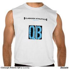 Clabaugh Athletic QB Sleeveless T-shirts