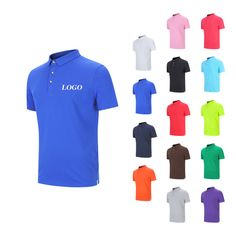 It's sports season again! Let's meet our hot sale #polo #shirts! It could either comes with quick-dry polyester or full cotton material. This basic #poloshirts will definitely be your best choice. #silkscreen #emboidery #heattransfer logo welcome. #promotionalproducts #promo
