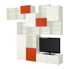 BESTÅ Storage combination - IKEA. Maybe use for storage along a wall?
