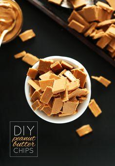 DIY PB CHIPS! minimalistbaker.com #vegan #glutenfree