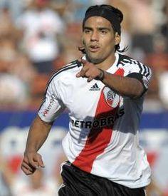 """Falcao no se olvida: """"Crecí en River y siempre lo tengo presente"""""""