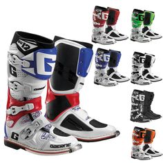 Gaerne Dirt Bike Riding Off Road MX Gear SG-12 Motocross Boots