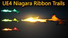 Ribbon Trails | Unreal Engine Niagara Tutorials | UE4 Niagara Ribbon Trails Unreal Engine, Digital Media, Trail, Engineering, Ribbon, Tutorials, Poster, Art, Tape