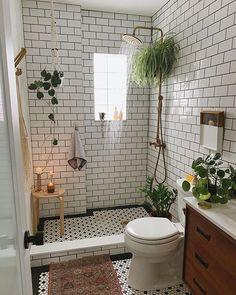 Bathroom Inspiration, Home Decor Inspiration, Decor Ideas, Design Inspiration, Bathroom Interior Design, Interior Decorating, Interior Livingroom, Kitchen Interior, Bohemian House