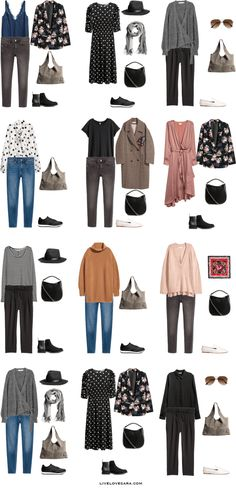 What to Pack for 12 Days in Italy and Greece Packing Light List Outfit Options 1-12 #packinglist #packinglight #travellight #travel #livelovesara