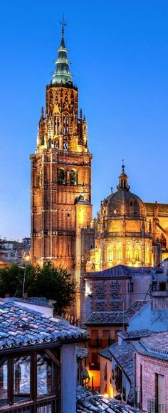 Toledo, Spain. A place that has been on my bucket list since I learned about El Greco and his art and must visit one day! Came close in July 2012 but needed more time in Spain!