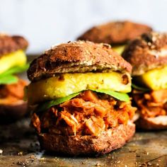 Easy Vegan BBQ Jackfruit Sandwiches