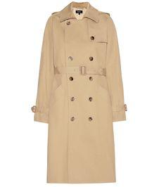A.P.C. Cotton Trench Coat. #a.p.c. #cloth #coats