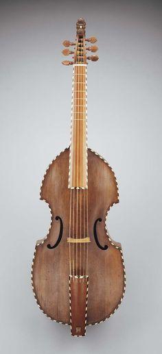 Bass viol, 1733. Sweden. | Museum of Fine Arts, Boston