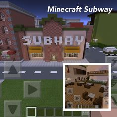 How to build a Minecraft Subway!