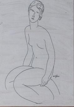 modigliani drawings - Google Search