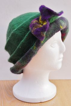 Wet Felting! Needle Felt! Hat on a Ball! - A Tutorial - Which Method should you choose?