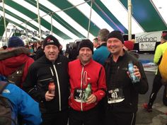 The Winter Run in Rouyn, Quebec