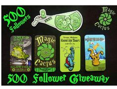 #Repost @magic.cactus.hat.pins  500 Follower Giveaway!  You will receive 5MEO DMT Hypnotoad pin Terence McKenna Stoned Ape Theory pin Jake the Dab Rig pin  Peyote button pin and a ODB Rick-Wu Portal Gun stickers.  To Enter  1- you must follow @magic.cactus.hat.pins  2-  Repost this image   Tag a friend &  Tag @magic.cactus.hat.pins  1-Winner will be selected by a random generator on Monday Dec 19th @noon PST Remember to tag your hat pin friends. important! Tag Magic Cactus Hat Pins so you I…