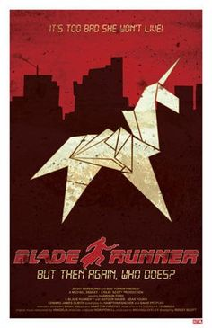 Minimalismo: Blade Runner (III)