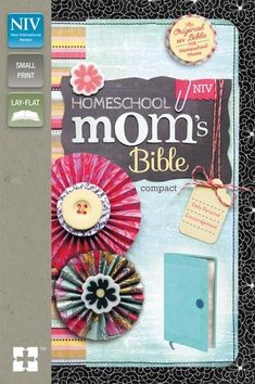 This turquoise and  blueberry Italian Duo-Tone™ Bible offers 365 encouraging devotions for moms who educate their children at home. It offers heartfelt inspiration to revive, encourage and strengthen you as you juggle the needs caring for your family while striving to educate and instill your faith and values in your children. With a full year's worth of insightful and empowering devotions written by a homeschooler for homeschoolers, this NIV Bible will warm your heart and restore your soul.