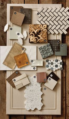 A moodboard is always an inspiration to interior design! Mood Board Interior, Interior Design Boards, Decor Interior Design, Interior Decorating, Material Board, Mood And Tone, Concept Board, Colour Schemes, Color Combinations