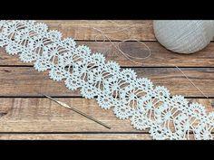 Crochet Butterfly Pattern, Crochet Bracelet Pattern, Crochet Jewelry Patterns, Crochet Headband Pattern, Crochet Lace Edging, Crochet Basket Pattern, Lace Patterns, Thread Crochet, Irish Crochet