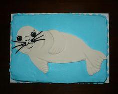Baby Seal Cake