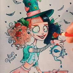 Mad Hatter fan art (Melanie Martinez) by Alef Vernon
