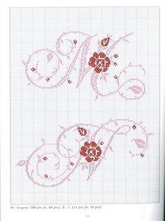 Gallery.ru / Фото #26 - Belles lettres au point de croix - logopedd