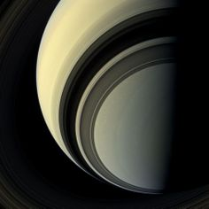 Photograph of Saturn from the NASA Cassini spacecraft.