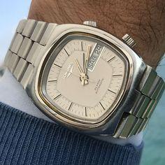 Orologio Watch Longines svegliarino watch Rare automatico Anni 70 Vintage Watch Deals, Quality Watches, Bulova, Cool Watches, Omega Watch, Ebay, Accessories, Vintage, Cool Clocks